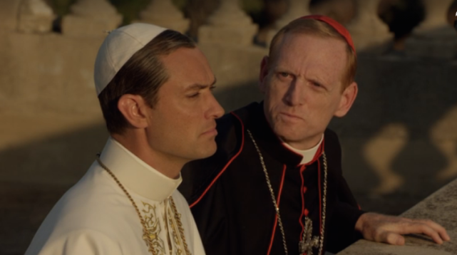 Lennys distraction the young pope