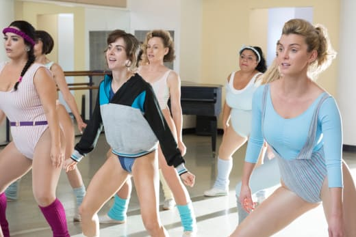 Aerobics with Ruth and Debbie