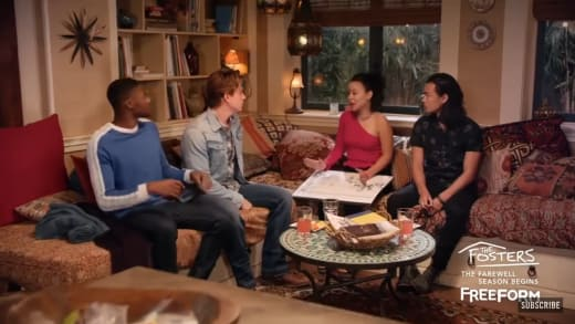 Mariana's Suitors - The Fosters Season 5 Episode 12