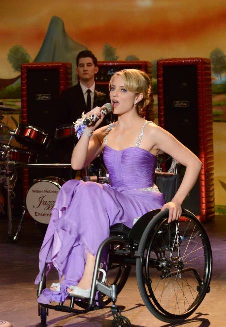 Quinn at Prom