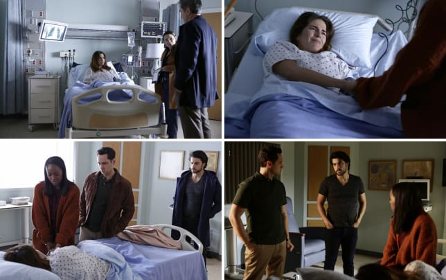 What did you see how to get away with murder s3e10