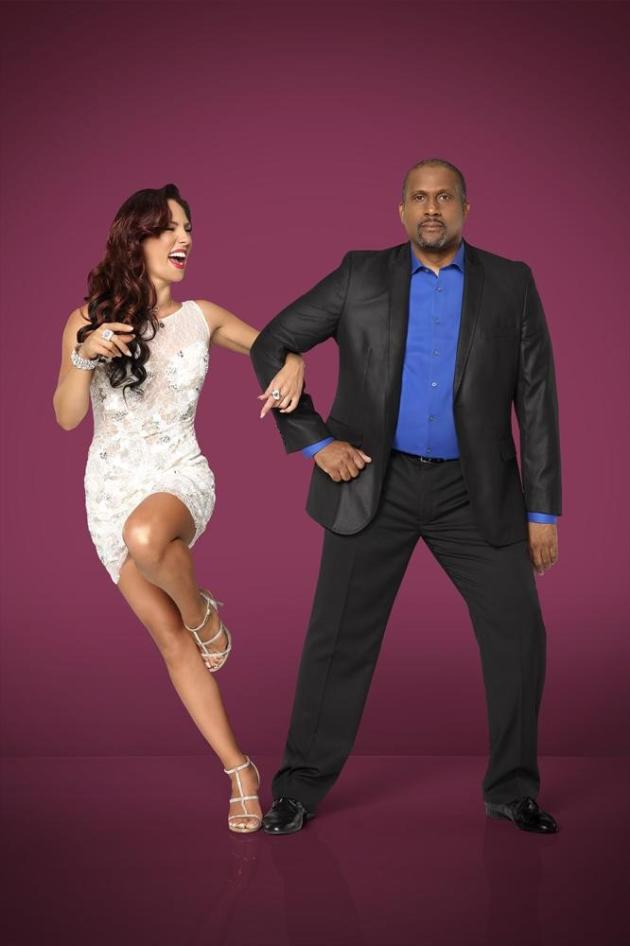 Tavis Smiley and Sharna Burgess - Dancing With the Stars