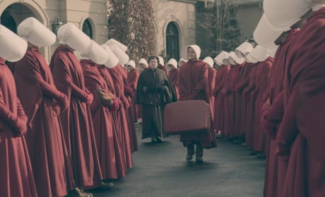 This Looks Ominous - The Handmaid's Tale Season 1 Episode 9