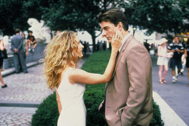 Carrie and Mr. Big -- Sex and the City