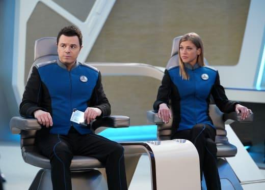 Bridge Command - The Orville Season 2 Episode 7