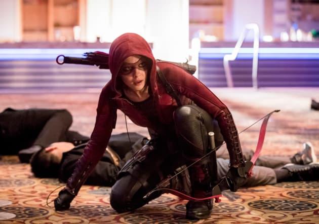 Speedy Suits Up - Arrow Season 6 Episode 15