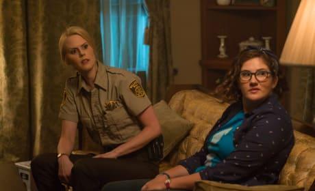 Evie and Denise - Stan Against Evil Season 2 Episode 2