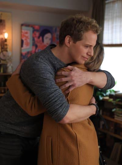 Jamie Hugs Maggie - Tall - A Million Little Things Season 3 Episode 9