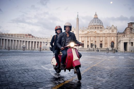 Hooten and the lady in Rome Season 1 Episode 2