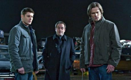 Crowley, Sam, Dean