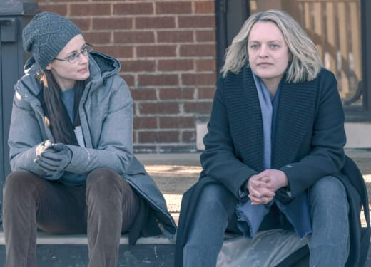 June and Emily - The Handmaid's Tale Season 4 Episode 10