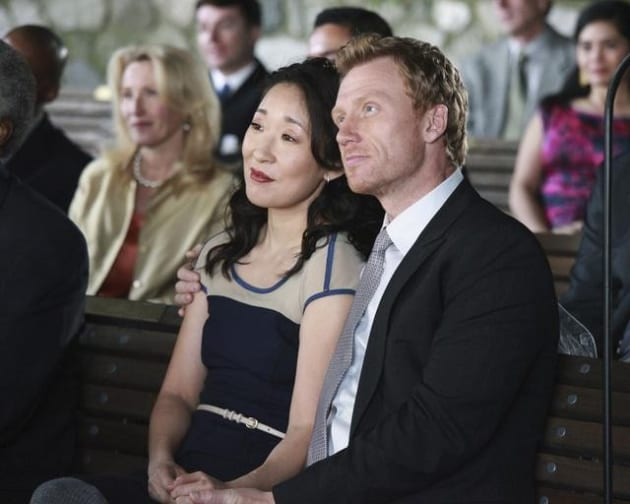 Cristina and Owen at the Wedding