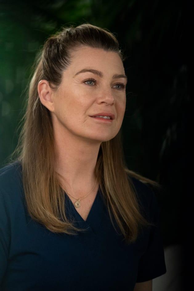 Supportive Girlfriend - Grey's Anatomy Season 15 Episode 18