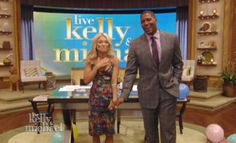 What do you think of Michael Strahan as co-host of Live?