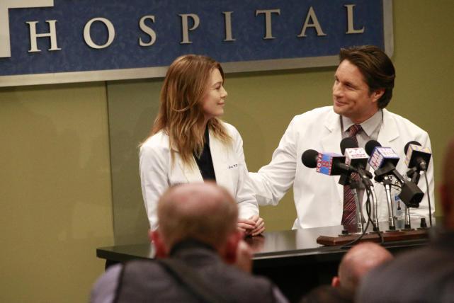 (Not) Platonic Touching - Grey's Anatomy Season 13 Episode 21