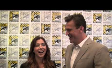 Alyson Hannigan and Jason Segel Interview
