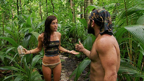 Russell and Parvati Argue in the Woods
