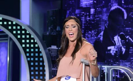 Megan Miller on American Idol