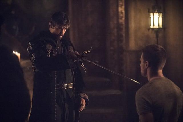 """I want you to become the next Ra's al Ghul."" Arrow"