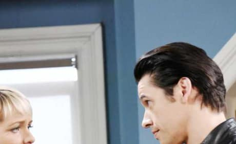 Xander Threatens Nicole Again - Days of Our Lives