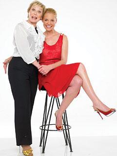 Katherine & Nancy Heigl