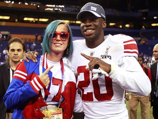 Katy Perry Giants