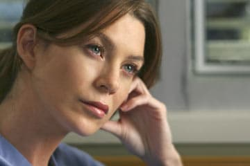 Meredith Deep in Thought