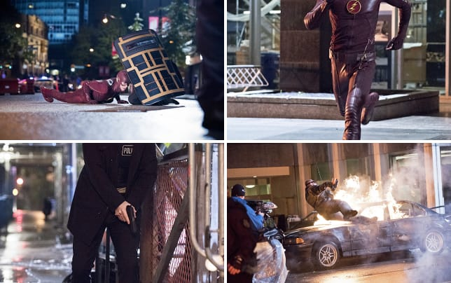 Ducking for cover the flash s1e10