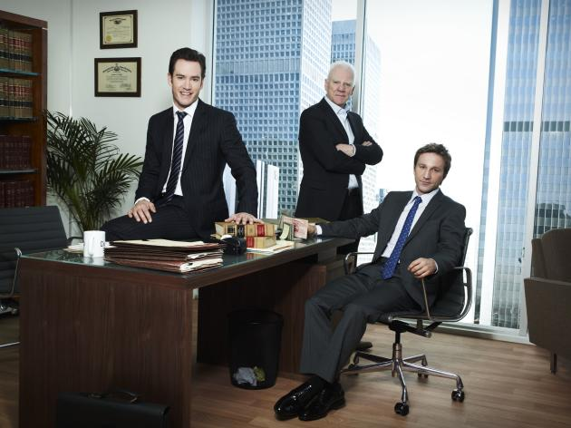 Franklin & Bash Cast Pic