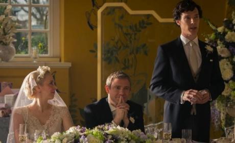 Sherlock as Best Man
