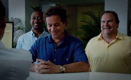 Three Married Men Checking In - Hawaii Five-0 Season 5 Episode 22