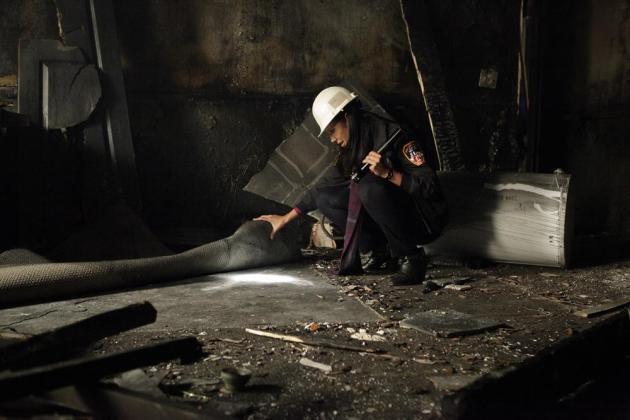 A Burned Out Crime Scene