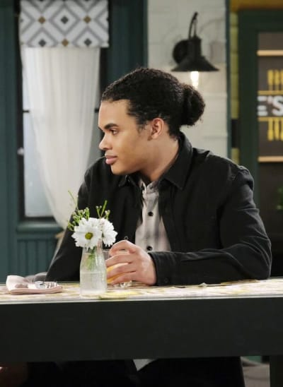 Theo's Surprising News / Tall - Days of Our Lives