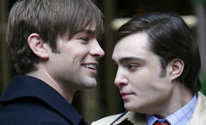 Three Gossip Girl Stars on the Set