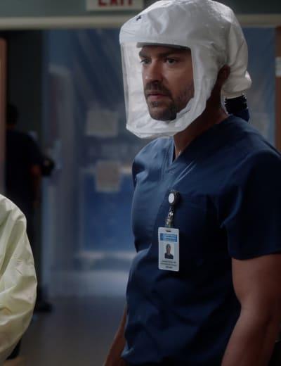 Jackson Jumps in - Tall - Grey's Anatomy Season 17 Episode 5