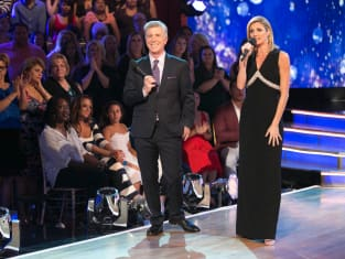Tom and Erin on Dancing with the Stars