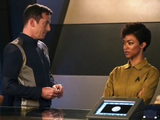 An Unexpected New Captain - Star Trek: Discovery