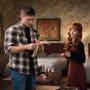 Rowena shows off her doll - Supernatural Season 12 Episode 11