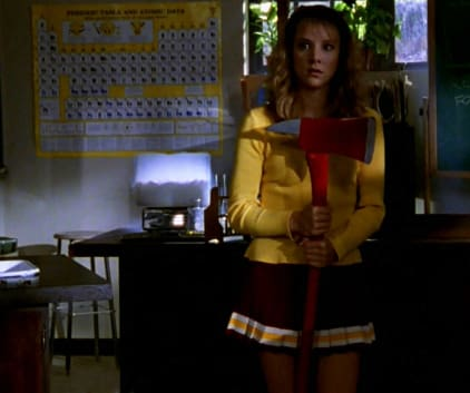A Handy Weapon - Buffy the Vampire Slayer