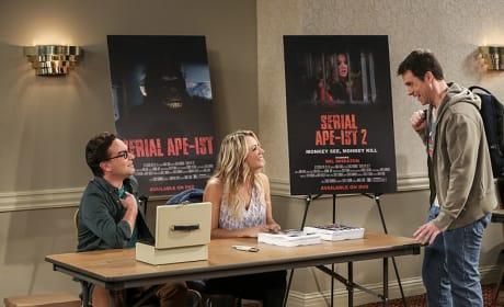 Looks Like Penny Has a Fan - The Big Bang Theory Season 10 Episode 6