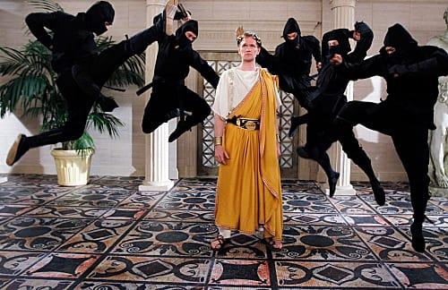 Barney as Caesar