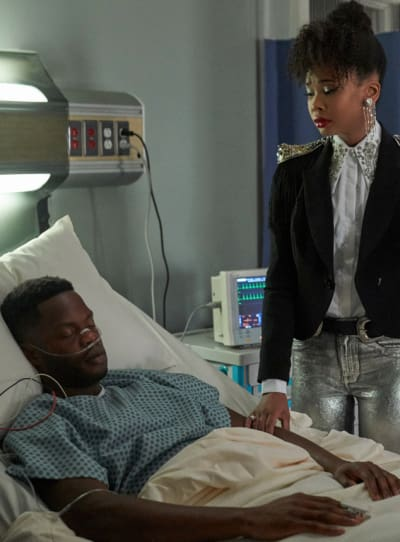 Bullet Wound - Tall  - Dynasty Season 2 Episode 10