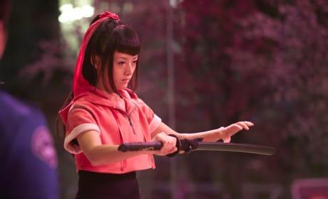 Kiki Sukezane as Miko Otomo - Heroes Reborn Season 1 Episode 3