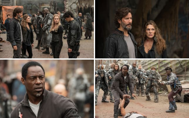 Worried the 100 season 4 episode 1