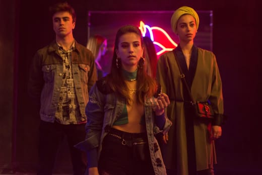 Rebecca, Nadia, and Samuel - Elite