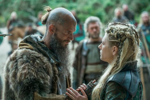 Floki and Lagertha - Vikings Season 5 Episode 6