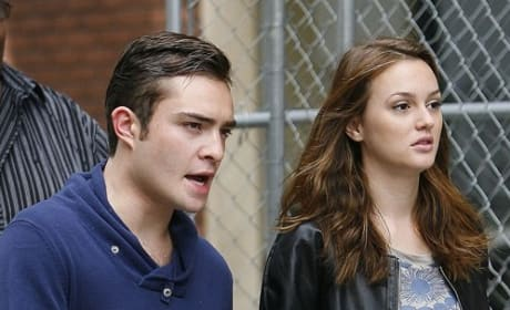 Ed and Leighton on Location