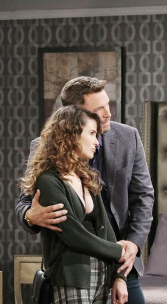 Xander Confronts Brady/Tall - Days of Our Lives