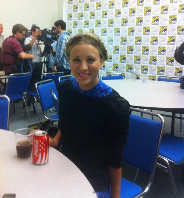 Kaley Cuoco at Comic Con