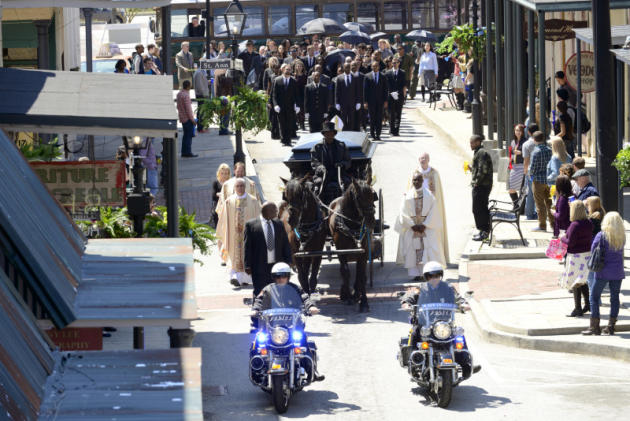 A Funeral on The Originals